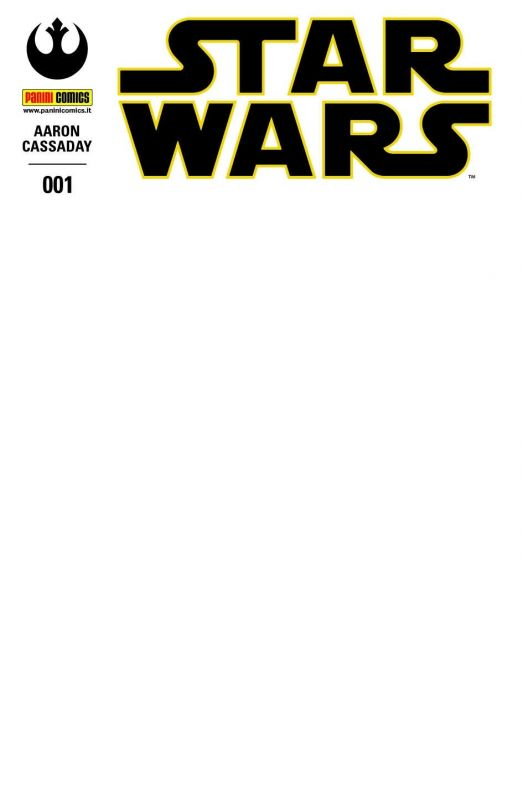 STAR WARS 1 WHITE COVER