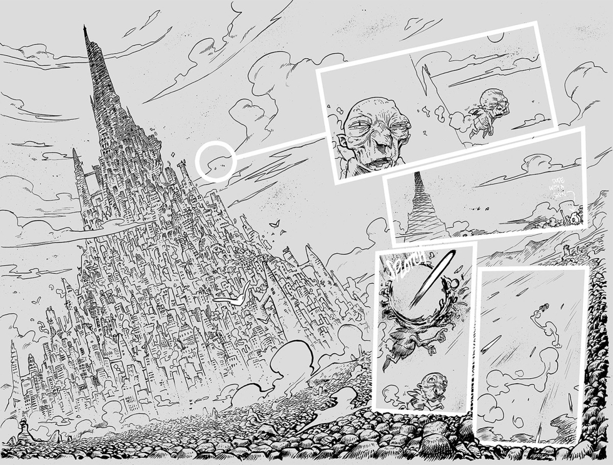 TheSpire_01_Inks_Preview_1and2_Approfondimenti