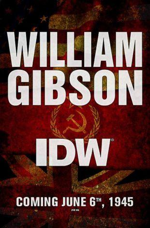 William Gibson scriverà un fumetto per IDW publishing