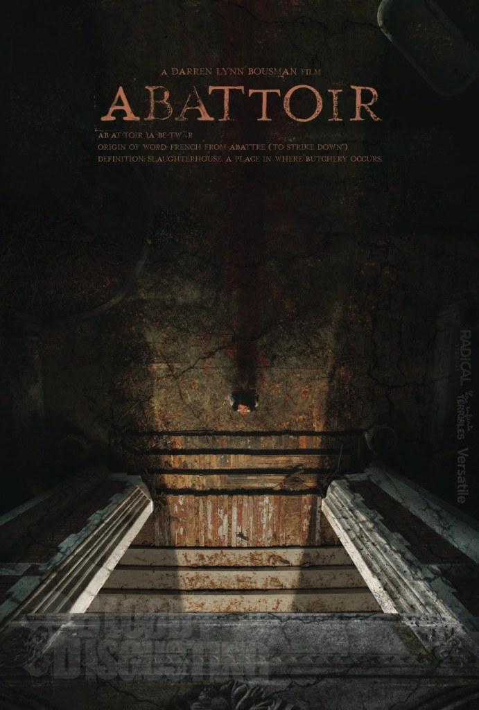 Cannes: il poster di Abattoir, sequel in lavorazione