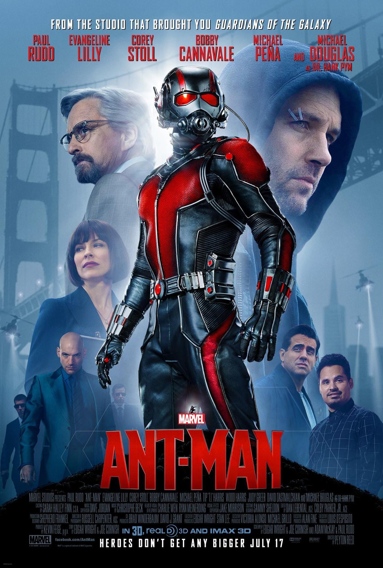 Il nuovo poster di Ant-Man
