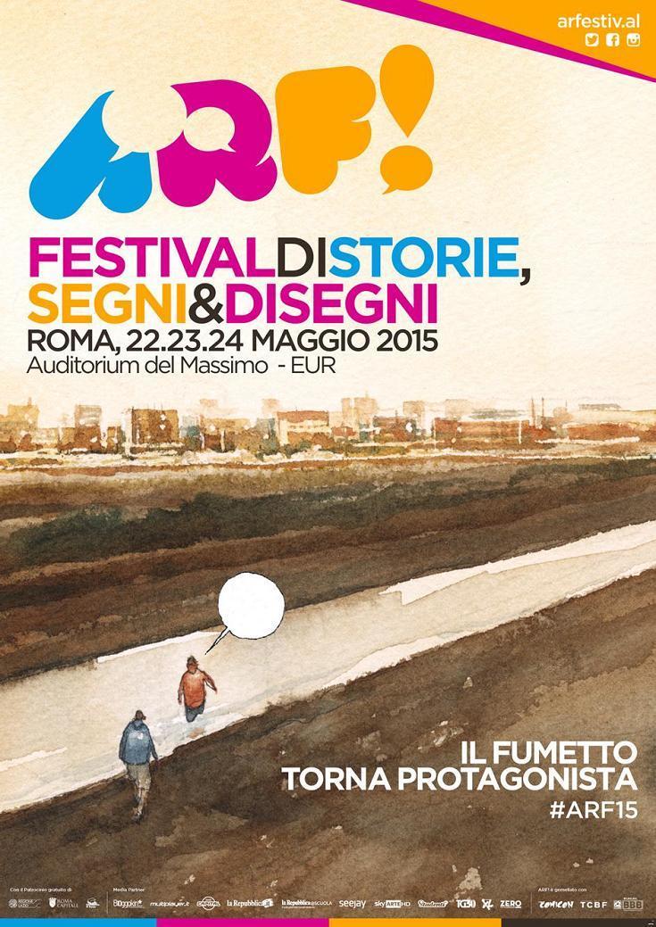 ARF! Reportage dal nuovo festival del fumetto di Roma_Cronache