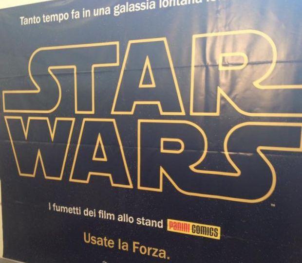 Napoli Comicon 2015, Panini Comics presenta Star Wars