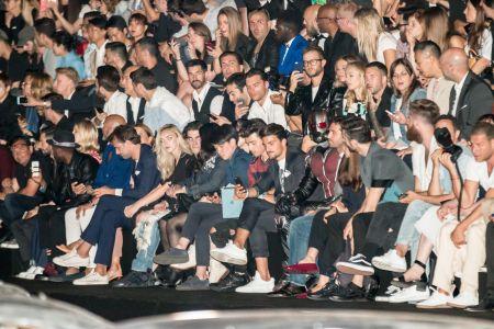 Ant-Man ospite alla sfilata di Philip Plein alla Milan Fashion Week