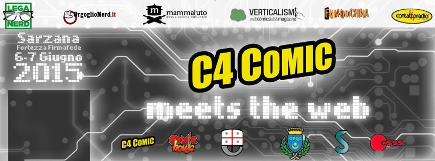 """Al via la prima edizione di """"C4 comic meets the Web"""""""
