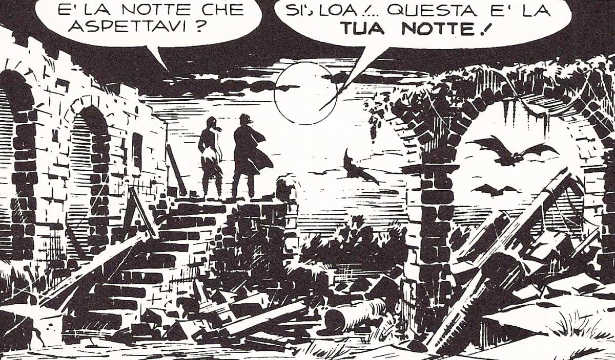 Gianluigi Bonelli e Galep – Tex: Magia nera