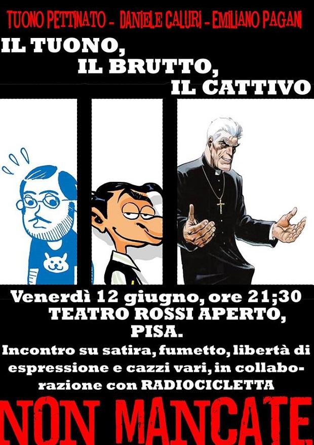 Tuono Pettinato e Pagùri al Teatro Rossi Aperto di Pisa