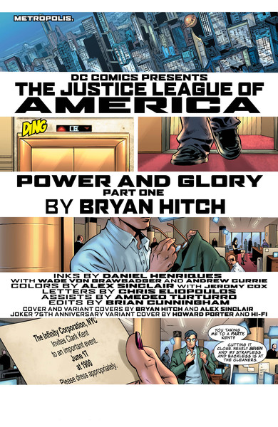 La Justice League di Bryan Hitch - Anteprima_Anteprime