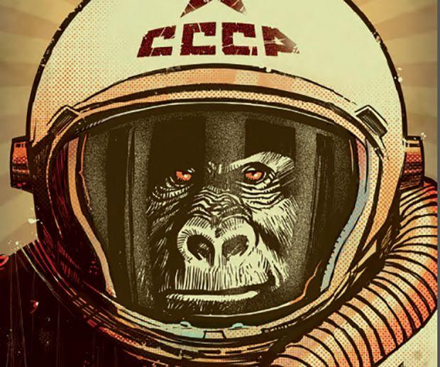 Josif, il gorilla d'acciaio creato da Barzi e Ambu