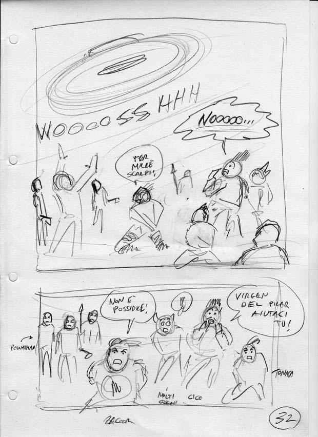Zagor 600 Akkroniani sceneggiatura