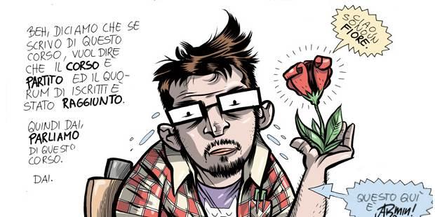 Fumettista, lavoratore, uomo libero. Uno alla volta