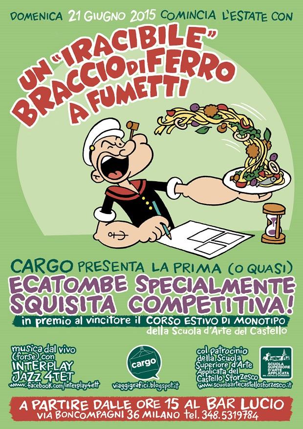 Cargo organizza un contest per disegnatori a Milano