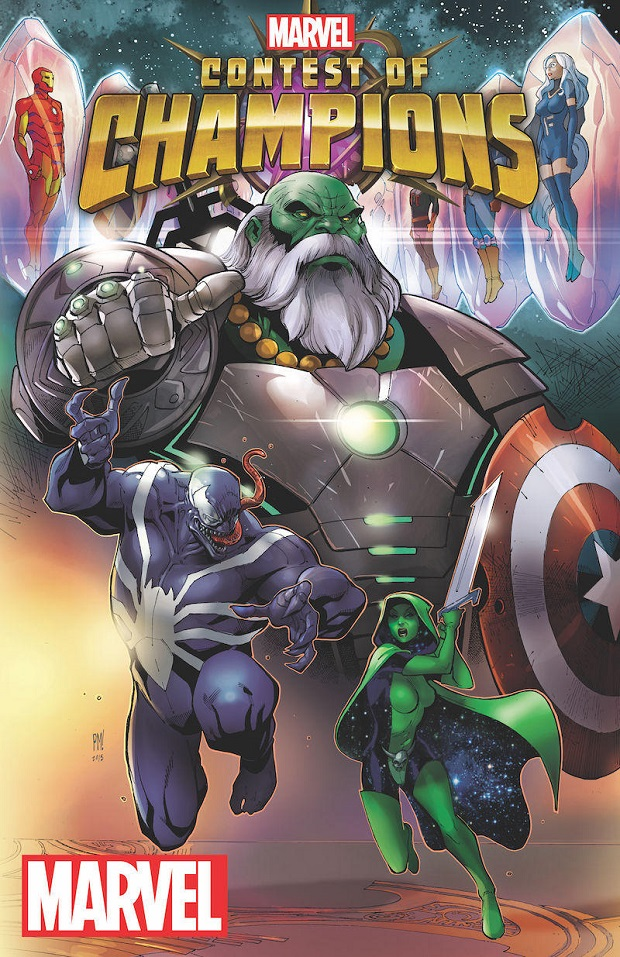 "Nuova testata Marvel ad Ottobre: ""Contest of Champions"""