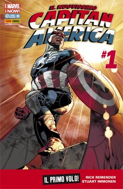 Il nuovissimo Capitan America #1 (Remender, Immonen)_BreVisioni