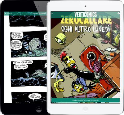 Una storia di Zerocalcare inaugura lo shop Verticomics