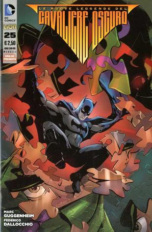 Le nuove leggende del Cavaliere Oscuro #25 (Guggenheim, Dallocchio)