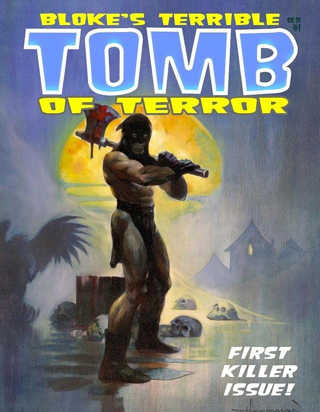"""""""Bloke's Terrible Tomb of Terror"""" a giugno da EUS Edizioni"""