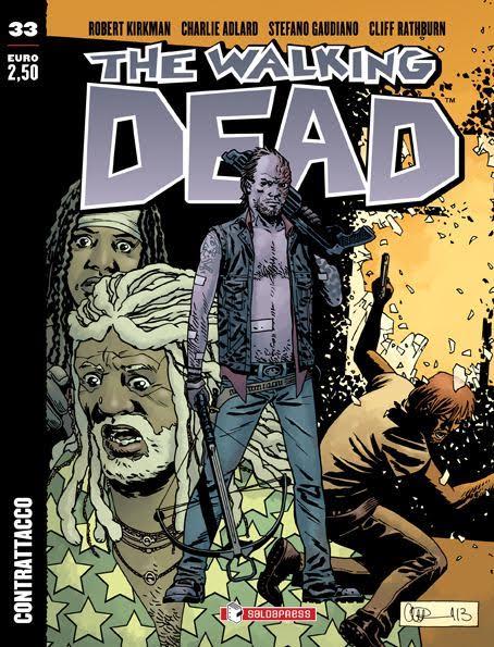 """È uscito The Walking Dead 33: """"Contrattacco"""""""