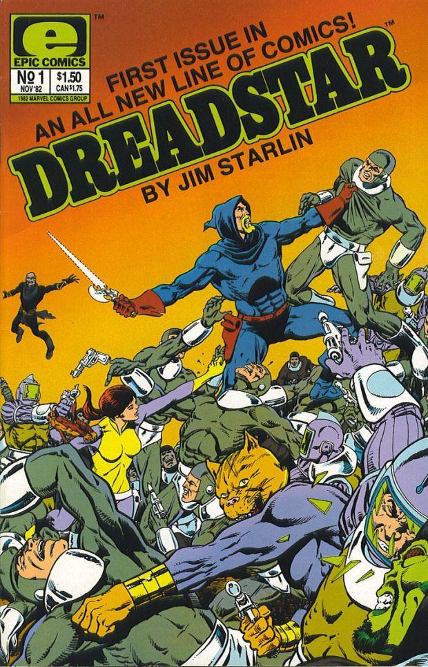 Jim Starlin torna su Dreadstar