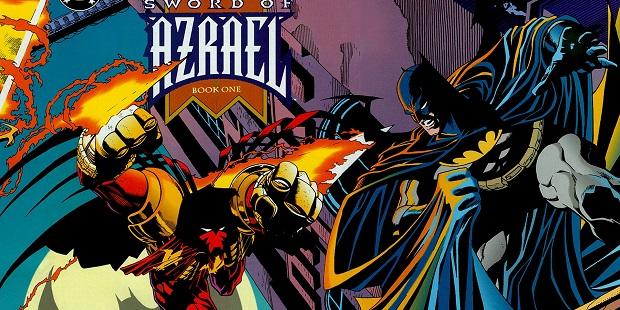 """RW-Lion ristampa """"Batman: La Spada di Azrael"""""""