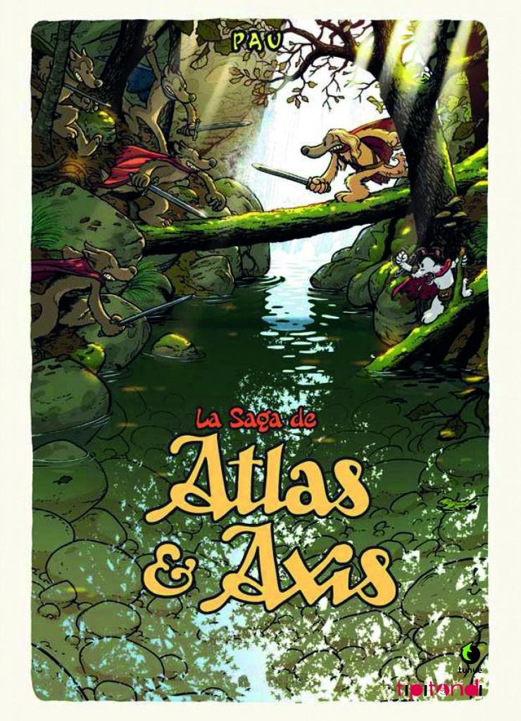 """In uscita a ottobre per Tunué """"Atlas e Axis"""" di Pau"""