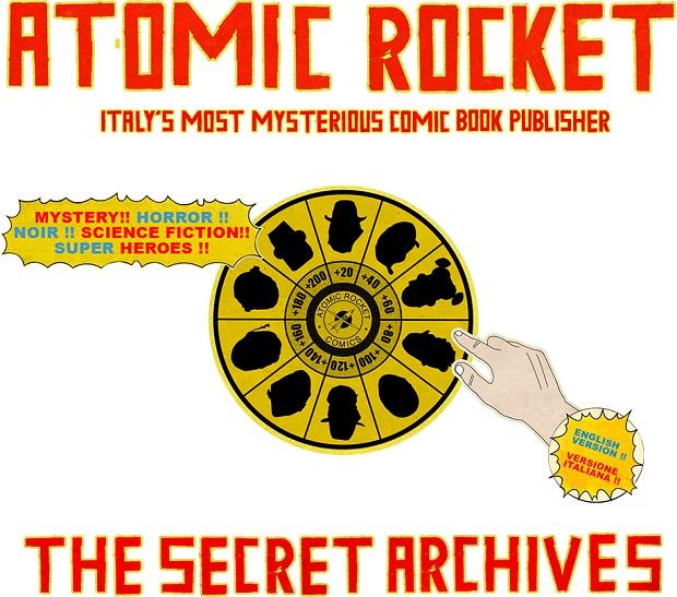 Atomic Rocket Comics: un universo multimediale