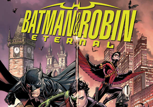 "[SDCC] In arrivo ""Batman& Robin Eternal"" e ""Robin War"""