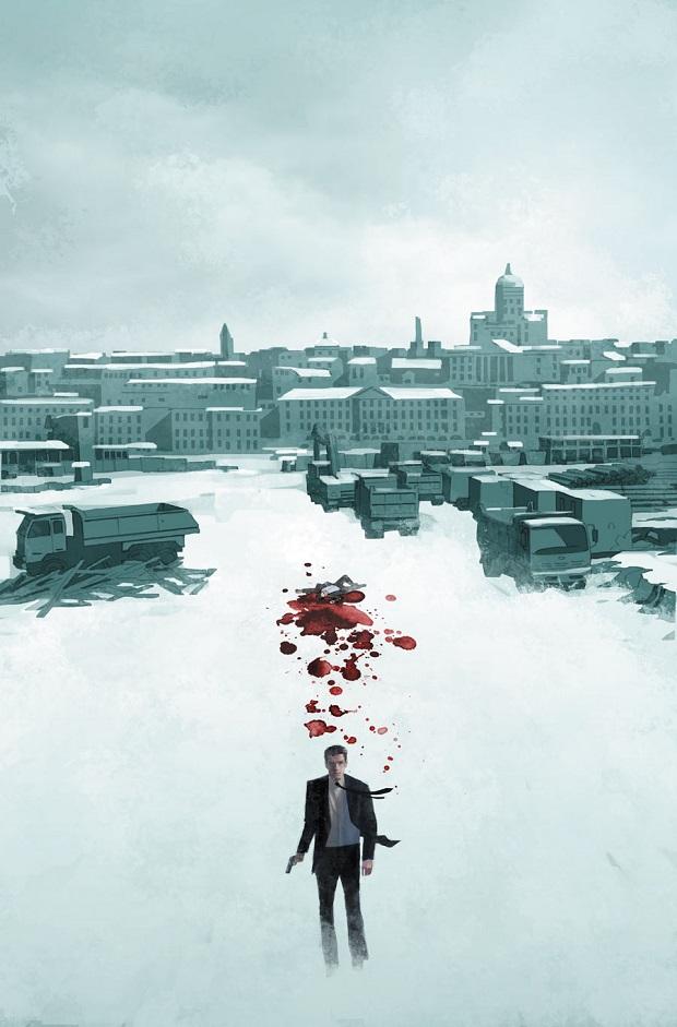 La cover di James Bond 007 #1 di Dom Reardon.