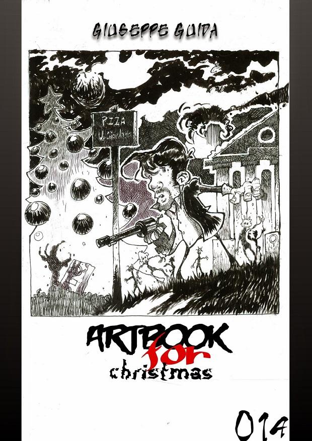 Un artbook di Giuseppe Guida dedicato a Dylan Dog