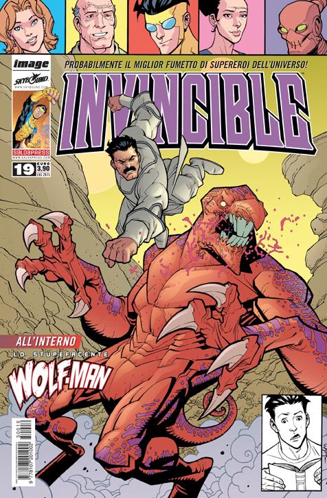 Invincible #19 in uscita in edicola e in fumetteria