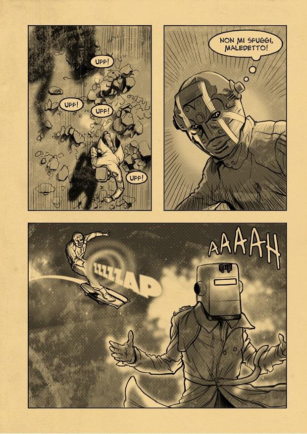 Iron Mask vs. Doctor Actom - Christian G. Marra