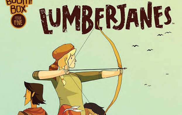 [SDCC] In arrivo il one-shot di Lumberjanes