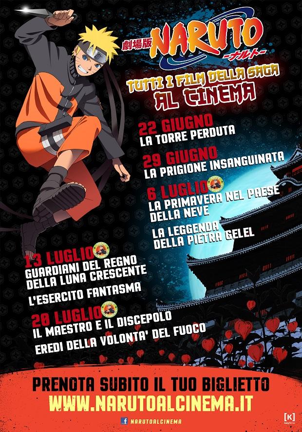 Naruto All Movies_PosterEvento