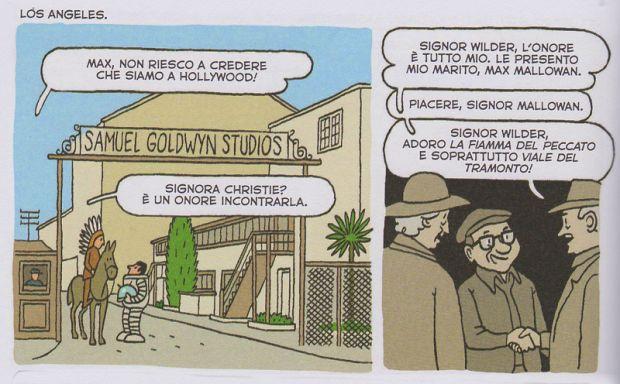 Tutti misteri di Agatha Christie in una bande dessinée