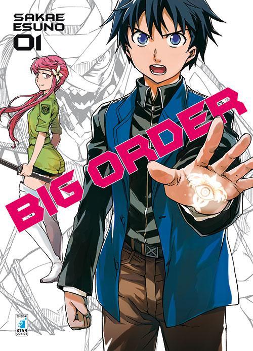 """Esuno Sakae dopo """"Mirai Nikki"""" ritorna con """"Big Order"""""""