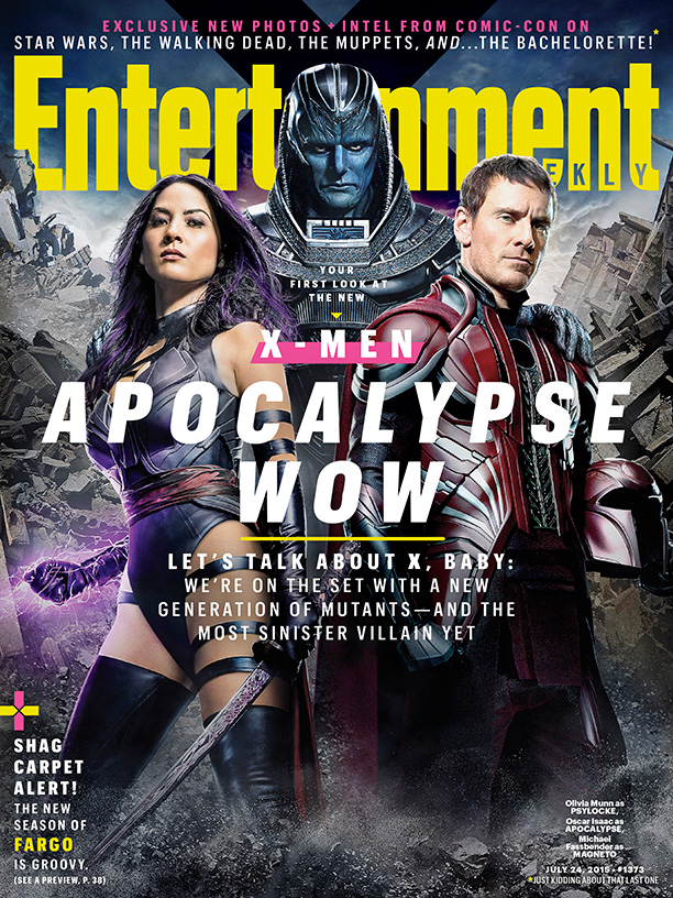 X-Men: Apocalypse - Prime immagini ufficiali_Notizie