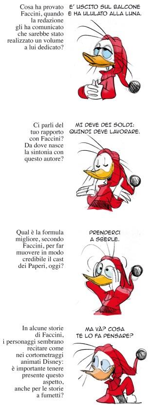 Se Paperoga ci mette becco: intervista a Enrico Faccini_Interviste