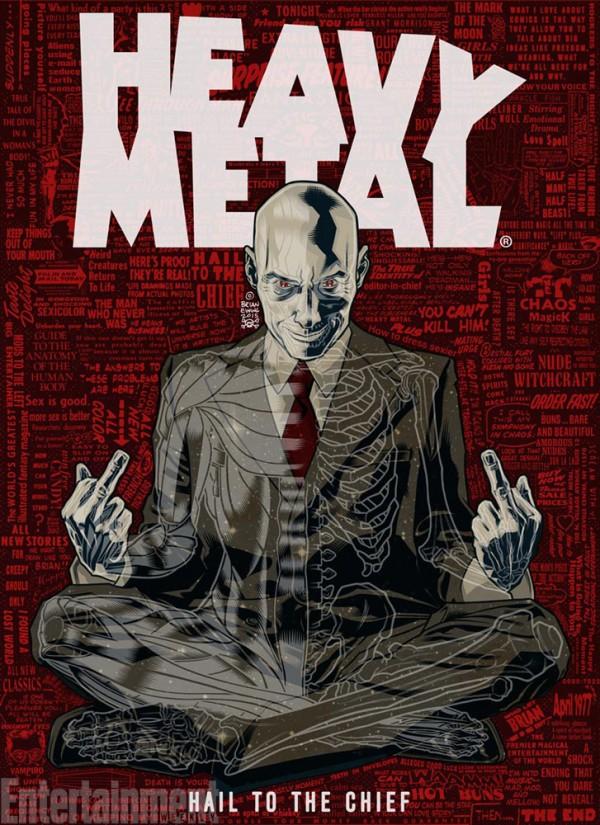 Grant Morrison è il nuovo Editor In Chief di Heavy Metal