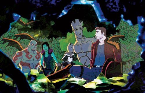 Notizie guardiani della galassia: clip dalla serie animata