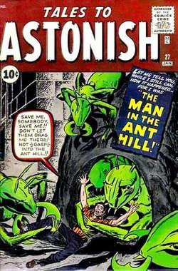 Copertina di Tales to Astonish #27