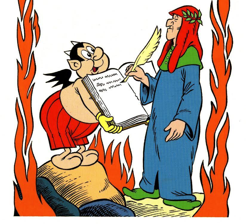 """Mostra """"WOW, Dante che mito!"""": Alighieri nei fumetti"""