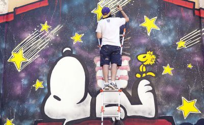 Snoopy & Friends - Murales