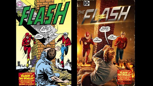 The Flash: nuovo poster seconda stagione con Jay Garrick