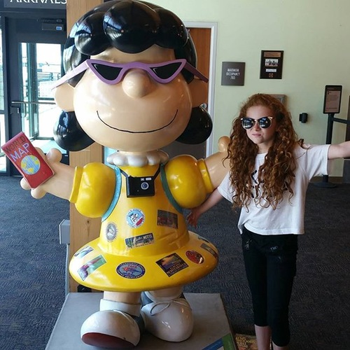 francesca-capaldi-and-lucy-from-peanuts-movie