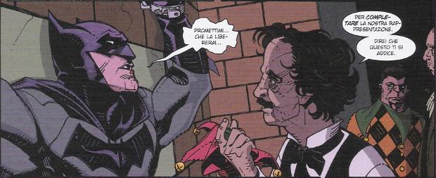 Le nuove leggende del Cavaliere Oscuro #26 (Marz, Hamner)