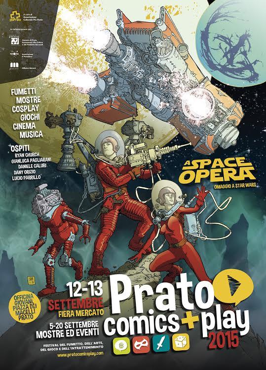 A settembre la quarta edizione di Prato Comics + Play