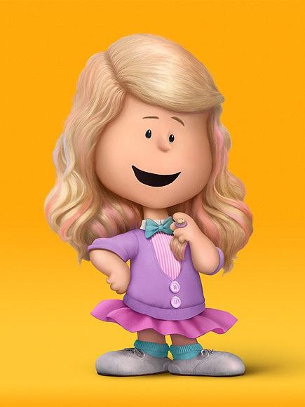 La versione animata della cantante Meghan Trainor nel film dei Peanuts
