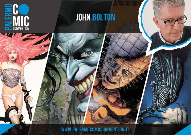 John Bolton al Palermo Comic Convention con Fumettomania