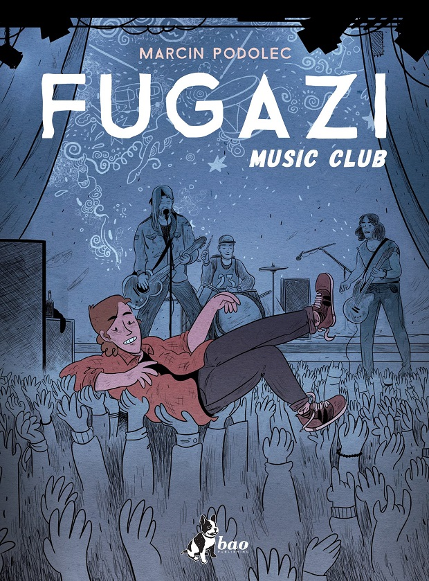 "Bao Publishing: ""Fugazi Music Club"" di Marcin Podolec"