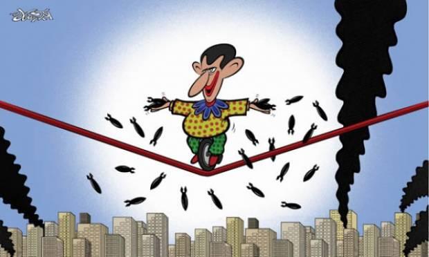 Morto sotto tortura il vignettista siriano Akram Raslan